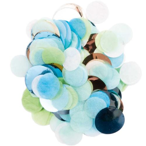 CONFETTI BLUE / GREEN MIX
