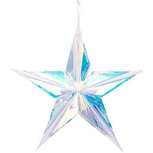 HONEYCOMB STAR IRIDESCENT, L